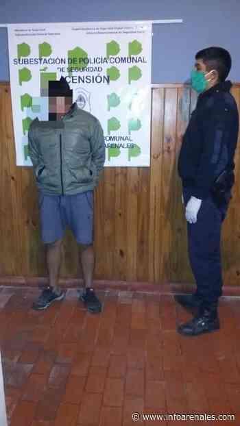 Ascension: otro detenido por no cumplir la cuarentena - Info Arenales
