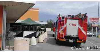 Codroipo, allarme incendio nel supermercato Cadoro - Il Friuli