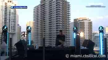 COVID-19 Relief Concert: DJ David Guetta Helps Raise $600K With 2-Hour Show Outside Icon Brickell - CBS Miami