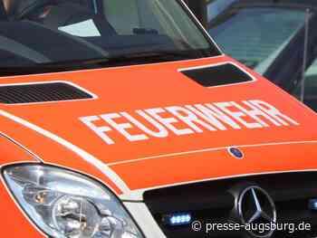 Trocknungsanlage brennt – Großeinsatz der Feuerwehr in Asbach-Bäumenheim - Presse Augsburg