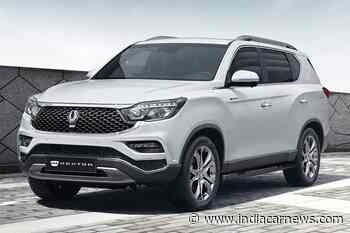 2020 SsangYong Rexton G4 Revealed; Gets A More Powerful Engine - IndiaCarNews