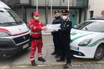 San Giuliano Milanese: la polizia locale dona dispositivi di protezione alla Croce Rossa di Cinisello Balsamo - 7giorni