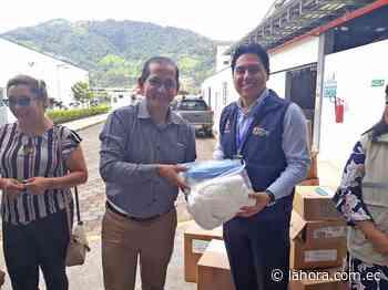 Municipio de Nangaritza entrega insumos médicos al Hospital Básico de Yantzaza - La Hora - La Hora (Ecuador)