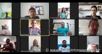 Brejo Santo - Prefeita e vereadores se reúnem para discutir enfrentamento ao coronavírus - Flavio Pinto