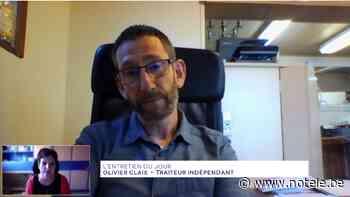 L'entretien du jour : Olivier Claix, traiteur indépendant à Pipaix - Notélé