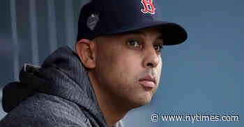 Red Sox' Alex Cora Suspended Through 2020 in Sign-Stealing Scandal