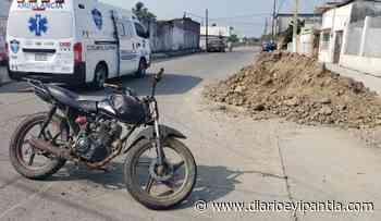 Automóvil desconocido arrolla a motociclista, en Cosamaloapan - Diario Eyipantla