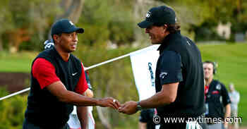 Woods and Mickelson Set for a Charity Match With Brady and Manning
