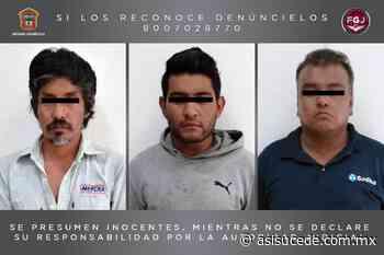 Incian proceso legal contra tres hombres por robo con violencia en Ixtapaluca - Noticiario Así Sucede