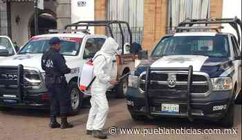 Continúa sanitización en espacios comunes de Chignahuapan - Puebla Noticias