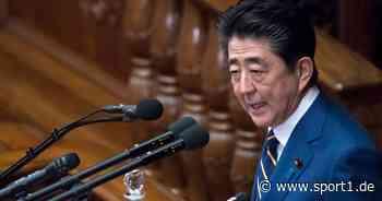 Olympia: Thomas Bach und Shinzo Abe besprechen Verschiebung der Spiele in Tokio - SPORT1