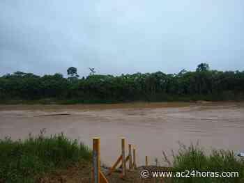 Todos os rios do Acre registram vazante nesta segunda-feira, mostra boletim - ac24horas