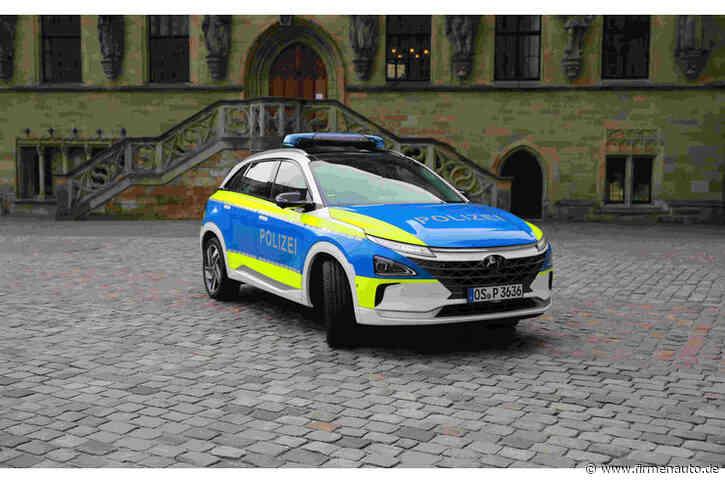 Hyundai Nexo bei der Polizei: Mit Wasserstoff zum Einsatzort - Firmenauto