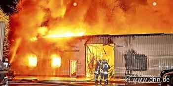 Luftmessung - Großbrand in Heidenau erhöht Feinstaubwerte in Dresden - Dresdner Neueste Nachrichten