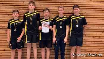 Überragende Saison: Tischtennis-Nachwuchs des 1. FC Zandt ist erfolgreich - Chamer Zeitung