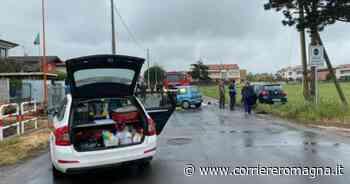 Frontale e due feriti in via Loreto a Budrio di Cesena - Corriere Romagna