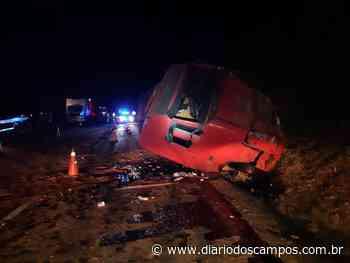 Diário dos Campos | Motorista morre após bater contra caminhão em Ortigueira - Diário dos Campos