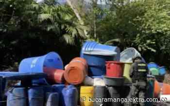 En Otanche, Boyacá incautaron insumos para producir cocaína - Extra Bucaramanga