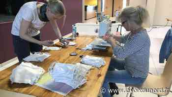 À Estaires, une fabrique éphémère et des volontaires pour confectionner plus de 6 000 masques - La Voix du Nord
