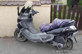 Le motard en cavale tente d'échapper aux policiers à Coubron - Le Parisien