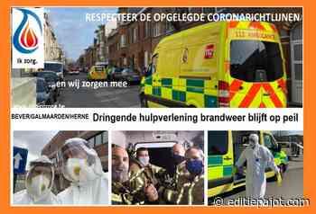 BEVER/GALMAARDEN/HERNE – Dringende hulpverlening brandweer blijft op peil - Editiepajot