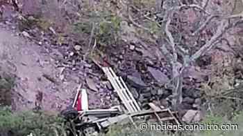 Un camión rodó a un abismo en Capitanejo causando la muerte a un hombre de 42 años - Canal TRO