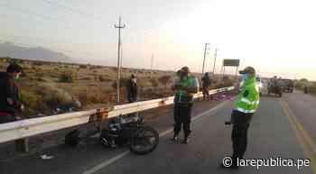 Comerciantes fallecen en accidente de tránsito en Motupe [Vídeo] - LaRepública.pe