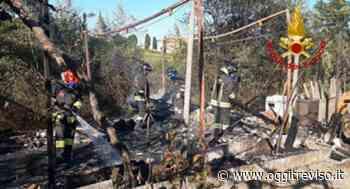 Incendi a Conegliano e Motta di Livenza: in fiamme le sterpaglie. - Oggi Treviso