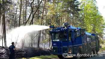 Ursache zu Waldbrand nahe Munitions-Gelände noch unklar - Nordbayern.de