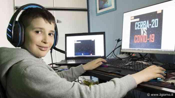 Binasco, bambino di 9 anni crea videogioco con cui sconfiggere il Coronavirus - IL GIORNO