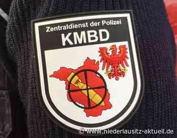B169 in Lauchhammer wegen Granatensprengung gesperrt - NIEDERLAUSITZ aktuell