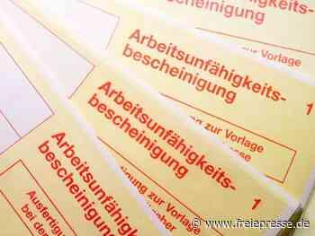 21.04.2020 Job & Karriere Krankschreibung per Telefon bleibt doch möglich Im März wurde in der - Freie Presse