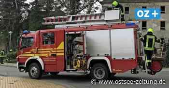 Sturm hält Feuerwehrleute in Trassenheide und Zinnowitz auf Trapp - Ostsee Zeitung