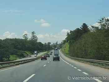 Rodovia Fernão Dias tem pistas bloqueadas em Camanducaia após acidente - Via Trolebus