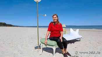 Corona-Protest (Binz): Hotelchefin zieht an den Strand - BILD