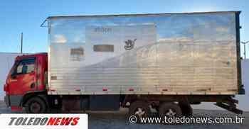 Caminhão baú é apreendido com cigarros contrabandeados em Palotina - Toledo News