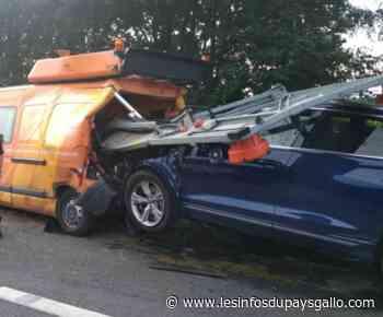 Ploermel. Un véhicule de la DIRO percuté par une voiture - Les Infos du Pays Gallo - Les Infos du Pays Gallo