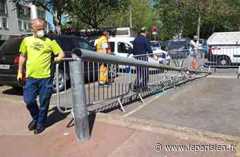 Ermont : une caméra de surveillance attaquée à la disqueuse - Le Parisien