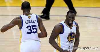 NBA: Draymond Green übt Kritik an Ex-Teamkollege Kevin Durant - SPORT1