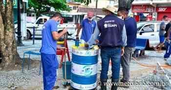 Prefeitura de Guapimirim instala lavatórios populares - NetDiário