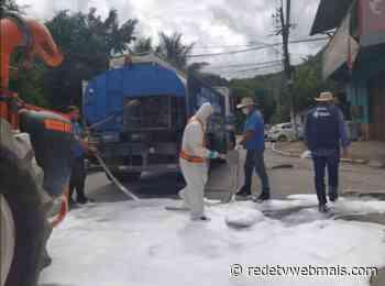 Prefeito de Guapimirim inicia higienização e desinfecção de locais com maior fluxo de pessoas - Rede Tv Mais