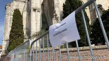 Isbergues : Des pierres de l'église tombent sur la chaussée - L'Écho de la Lys