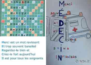 Au collège Victor Hugo de Gisors, le merci poétique des élèves de Segpa aux soignants - Normandie Actu