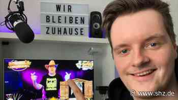 """DJ Chaos Basti"" aus Kropp: Sebastian Haack überträgt die Disco ins Wohnzimmer   shz.de - shz.de"
