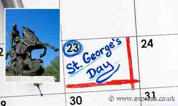 St George's Day: Who was Saint George? Who celebrates St George's Day? - Express.co.uk