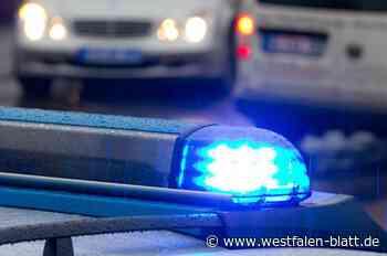 Auto in Mastholte prallt gegen Baum - Westfalen-Blatt