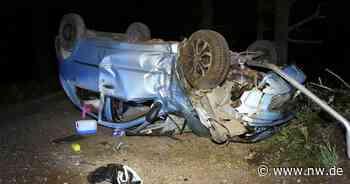 22-jährige Frau überschlägt sich mit Auto in Rietberg - Neue Westfälische