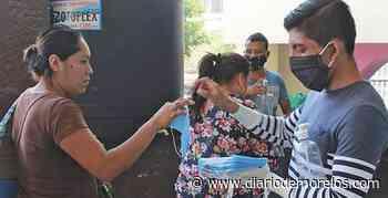 Alistan 28 mil cubrebocas para repartirlos en Tepalcingo - Diario de Morelos