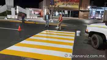 #Cuauhtemoc | Dan mantenimiento a vialidades de la ciudad - Adriana Ruiz