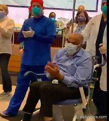 VIDEO: St. Joe's Workers Celebrate Dr. James Pruden's Emotional Hospital Discharge - Fort Lee Daily Voice
